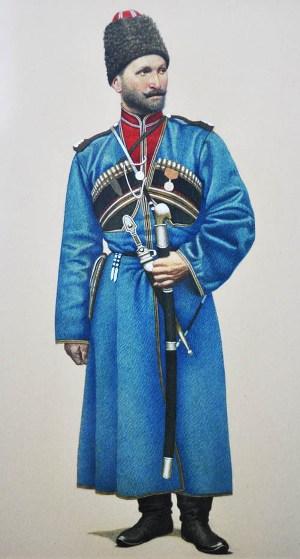 Джима САВЛАЕВ, казак-осетин.