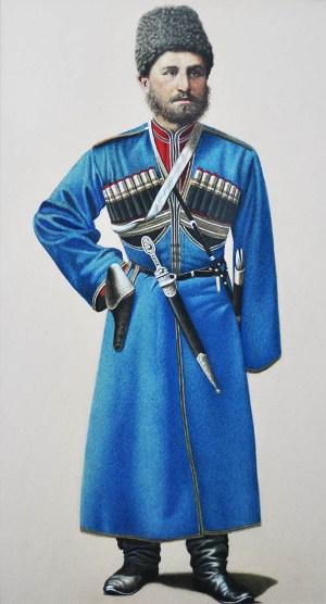Иван ГАЦУНАЕВ, казак-осетин.