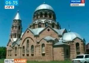 В станице Новоосетинской идет восстановление храма святого Николая Чудотворца