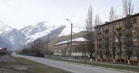 К холодам горный поселок Фиагдон готов