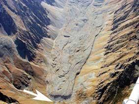 Каменные глетчеры Северной Осетии