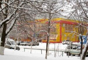 Холодный февраль во Владикавказе стал теперь и снежным