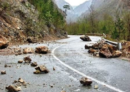 Дорога на Мацуту после камнепада открыта