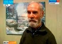 В кафе Моздока открылась первая художественная выставка