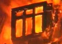 В Беслане сгорел дом, которому полтора века