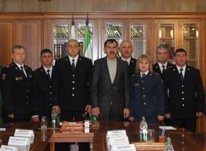 Президент Ингушетии поблагодарил полицейских из Северной Осетии