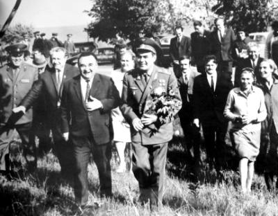 Космонавту №3 воздали в Северной Осетии небывалые почести