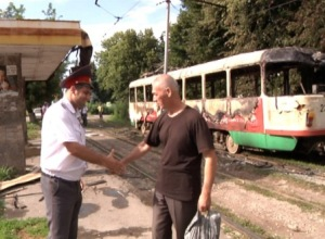 Исключительная доблесть автоинспектора спасла жизни участникам ДТП во Владикавказе