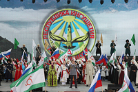 Таймураз МАМСУРОВ принял участие в юбилее Ингушетии