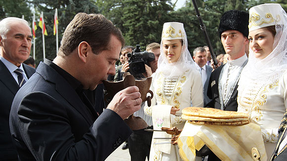 Медведев — о восстановлении Южной Осетии: «Хотелось бы большего»