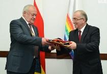 Таймураз МАМСУРОВ награжден золотой медалью