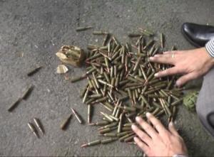 Во Владикавказе изъят целый арсенал оружия