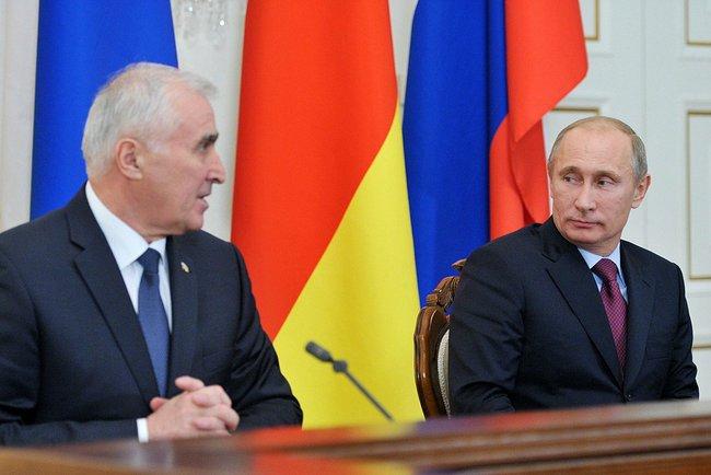 Заявления для прессы по итогам встречи Владимира ПУТИНА с Леонидом ТИБИЛОВЫМ