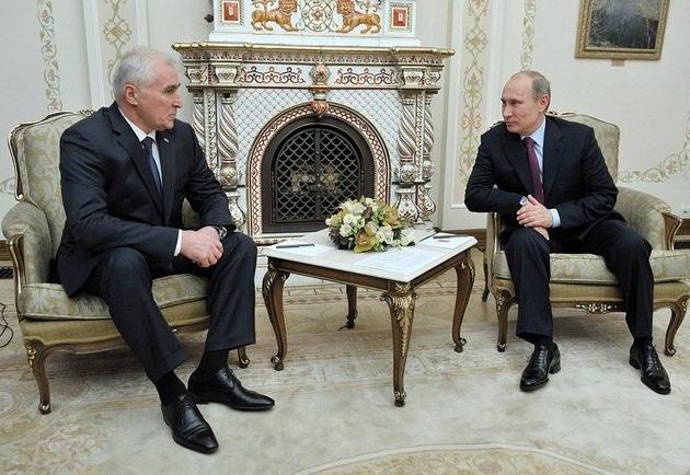 Встреча Владимира ПУТИНА с Леонидом ТИБИЛОВЫМ