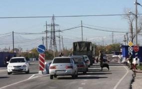 Взорванный пост на административной границе Северной Осетии восстановлен