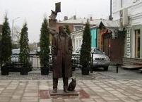 Жителям Владикавказа пришелся по душе бронзовый Булгаков