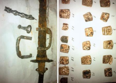 Антикварное золото, которое пытались продать жители Ингушетии, оказалось уникальным