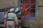 В Михайловском при пожаре хозяин домовладения получил ожоги I-II степени