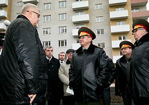 Шойгу проинспектировал строительство жилищного комплекса Владикавказского гарнизона