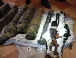 У жителя осетинского села изъяты пулемет и два гранатомета