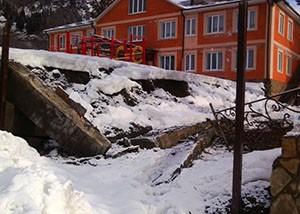 Детский сад пострадал от снега. И от плохого строительства?