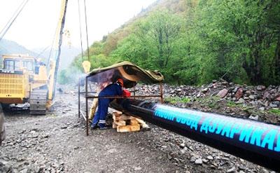 Газовая магистраль шагнула в Южную Осетию