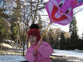 Новый год во Владикавказе начался с яркого зимнего солнца