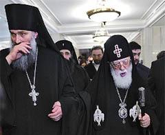 Патриарха Грузии обвинили в духовной измене родине