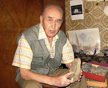 Старейший археолог России отмечает юбилей