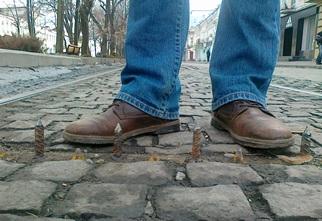 Главный проспект Владикавказа – только для пешеходов