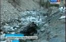 На Транскаме автомобиль «Татра» опрокинулся в пойму реки Ардон