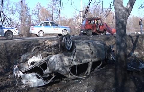 25-летняя женщина за рулем «БМВ» совершила ДТП, приведшее к гибели трех человек