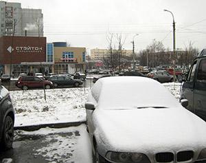 Во Владикавказе зима началась… в марте