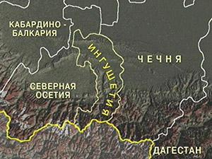 Триста чеченских силовиков попытались провести митинг в Ингушетии