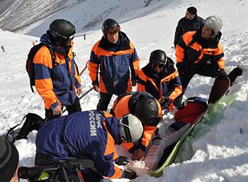 В высокогорном Цее прошли масштабные учения спасателей России, Абхазии и Южной Осетии