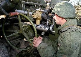 Российская военная база в Южной Осетии проводит тактические учения