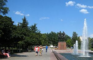 Июнь во Владикавказе огрызнулся жаркими деньками