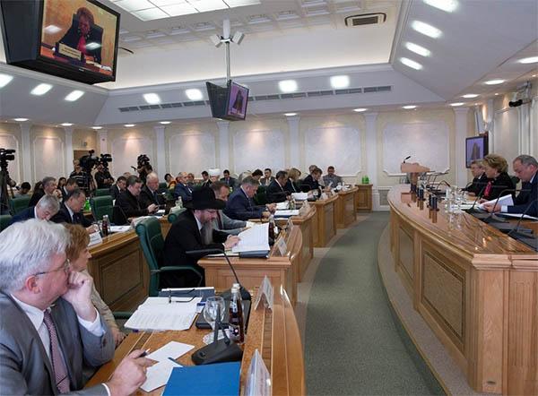В Совете Федерации обсудили Стратегию государственной национальной политики