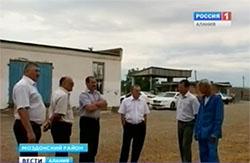 Министр сельского хозяйства Северной Осетии Роберт ЗАСЕЕВ посетил фермерские хозяйства Моздокского района