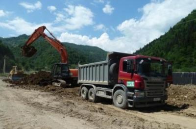 Продолжается реконструкция дороги Гуфта-Квайса