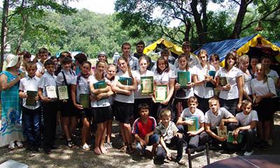 Моздокские школьники побывали в детском православном лагере на берегу Черного моря