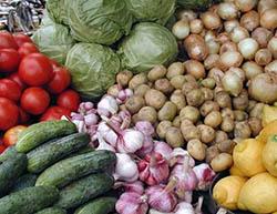 Овощи Южной Осетии имеют особый вкус и аромат
