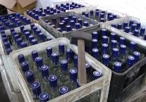 В Северной Осетии изъято более 100 тысяч бутылок контрафактной водки