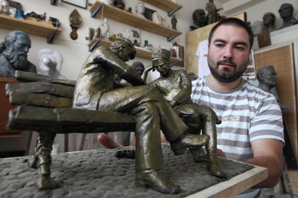 Во Владикавказе появится бронзовый городовой