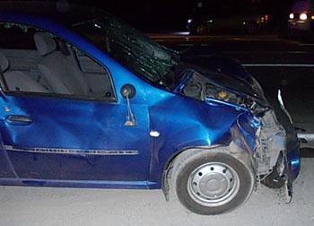 На федеральной трассе «Кавказ» 18-летний водитель иномарки насмерть сбил двух человек
