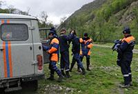 На горе Казбек заблудился турист из Польши