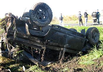 На трассе «Ардон-Бекан» перевернулся «Ленд-Ровер», в числе пострадавших – ребенок