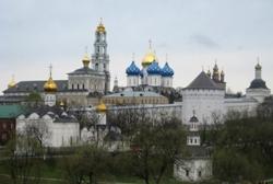 Архиепископ Зосима принял участие в престольных торжествах в Троице-Сергиевой лавре