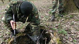 Крупнейший за последние годы тайник с оружием найден в Ингушетии