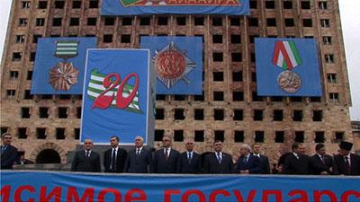 Сурков совершил первый визит в Абхазию в новой должности